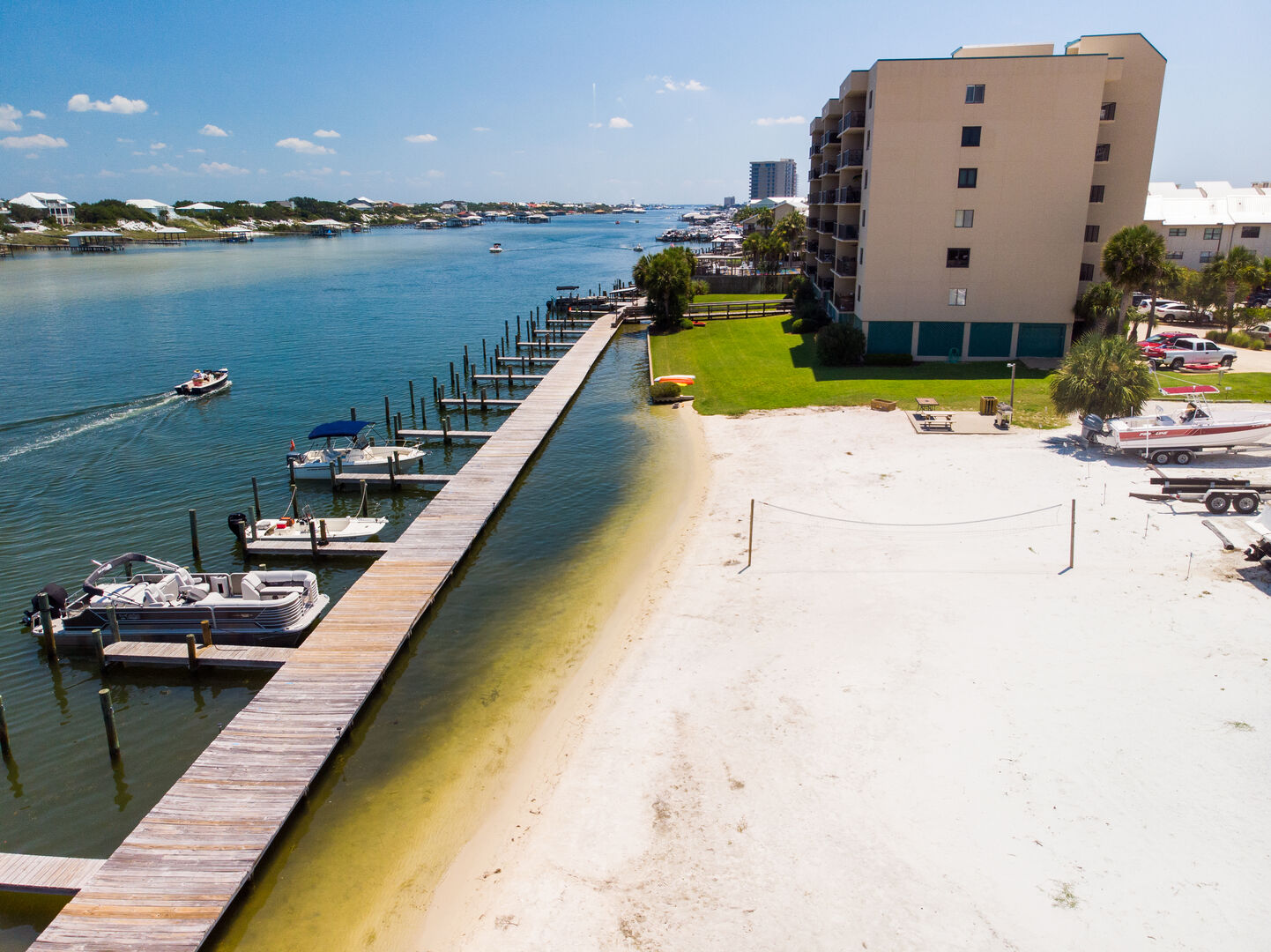 Beach area on the Bay at Wind Drift!