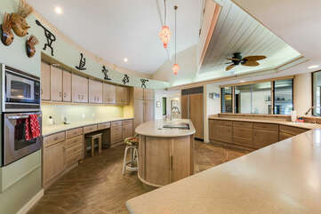 Expansive Kitchen