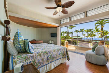 Bedroom 4 with Ocean Views