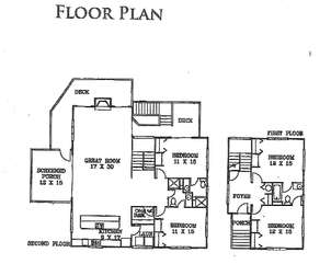 3703 Bonita Court - Floor Plan