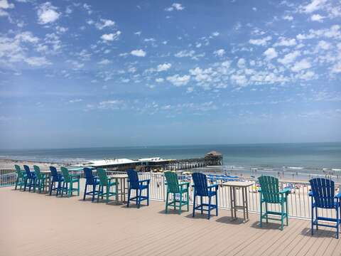 See gorgeous sunsets from the west, watch shuttle launches or enjoy a coffee overlooking the Pier from the Rooftop Patio.