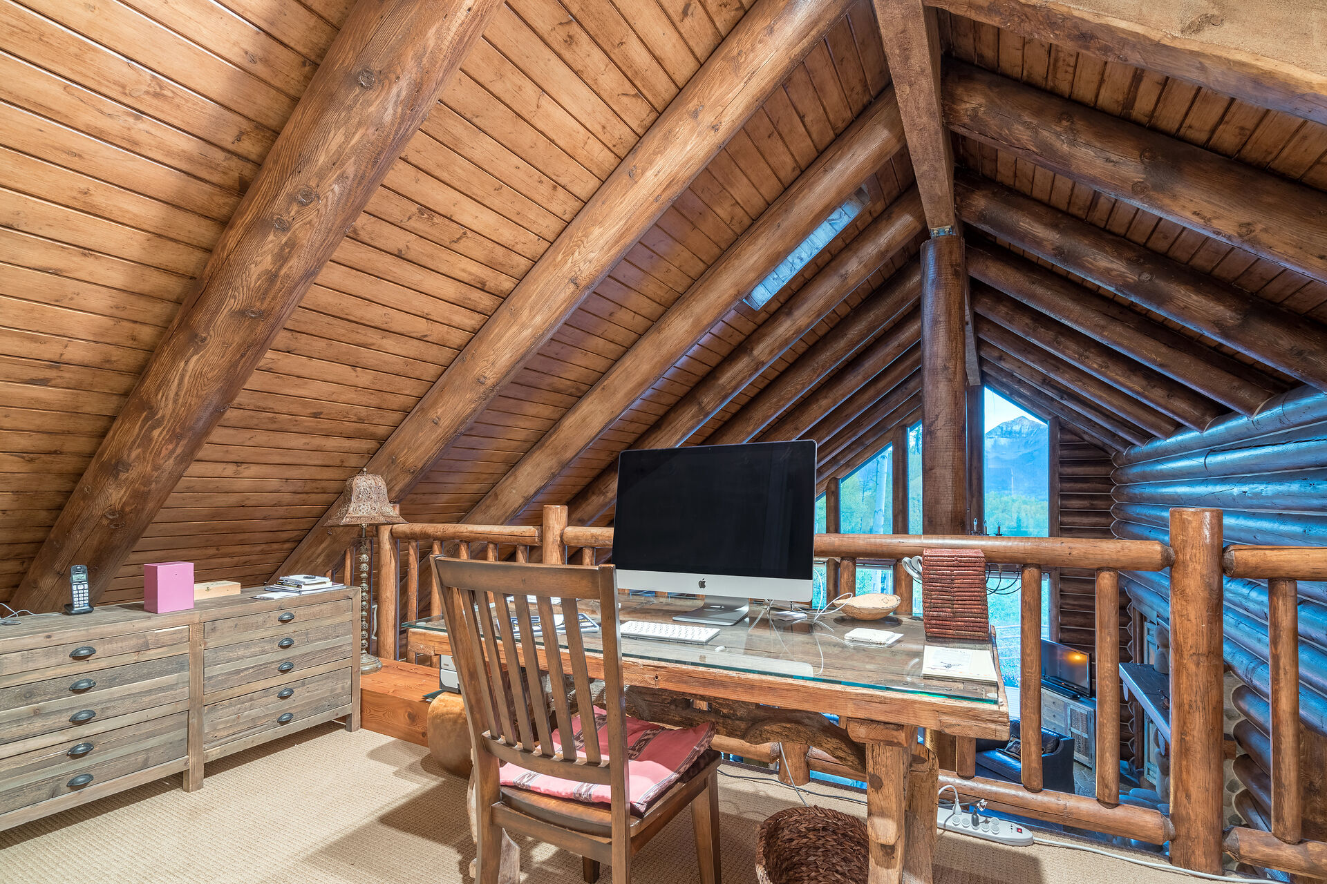 Loft with Desk for Working Remotely in Telluride at 232 Park Lane