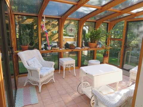Sunroom - 19 Old Cart Way Chatham Cape Cod New England Vacation Rentals