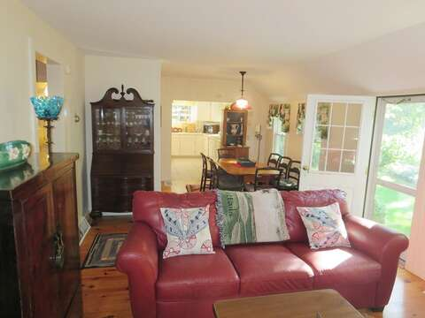 Enter through the front door - 19 Old Cart Way Chatham Cape Cod New England Vacation Rentals