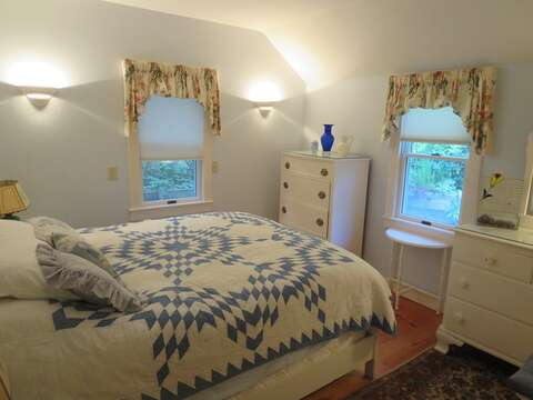Bedroom #1 has a Queen bed - 19 Old Cart Way Chatham Cape Cod New England Vacation Rentals