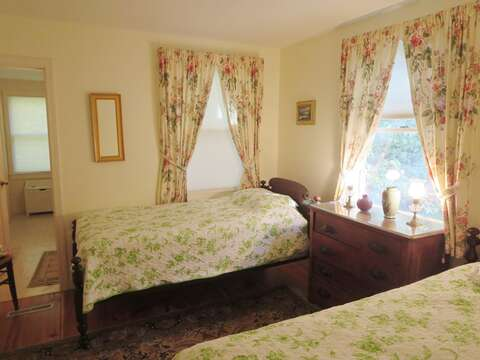 Another view of Bedroom 3 looking toward the en suite bathroom - 19 Old Cart Way Chatham Cape Cod New England Vacation Rentals