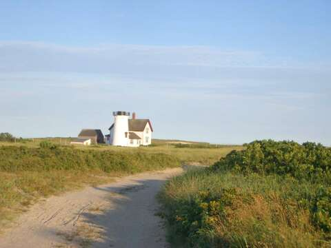 Harding's Beach dune walk, a one mile walk through the dunes to Stage Harbor Lighthouse! - Chatham Cape Cod New England Vacation Rentals