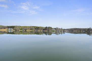 Lake near this home.