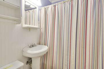 Bath in separate Hallway