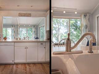 Sink in the kitchen.