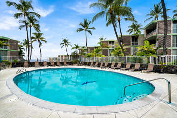 Alii Villas common area pool