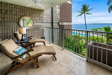 Lounge on your Lanai and Enjoy the View