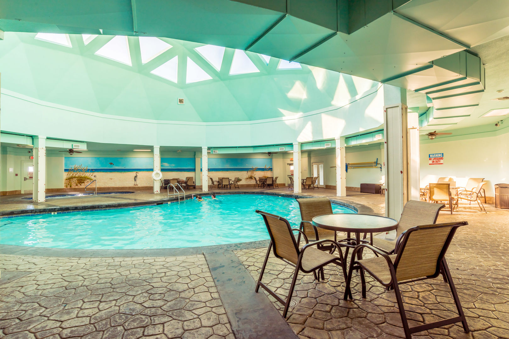 Dive into the pleasures of life from the community pool!