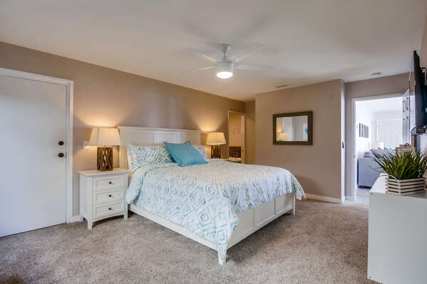Master Bedroom with ceiling fan