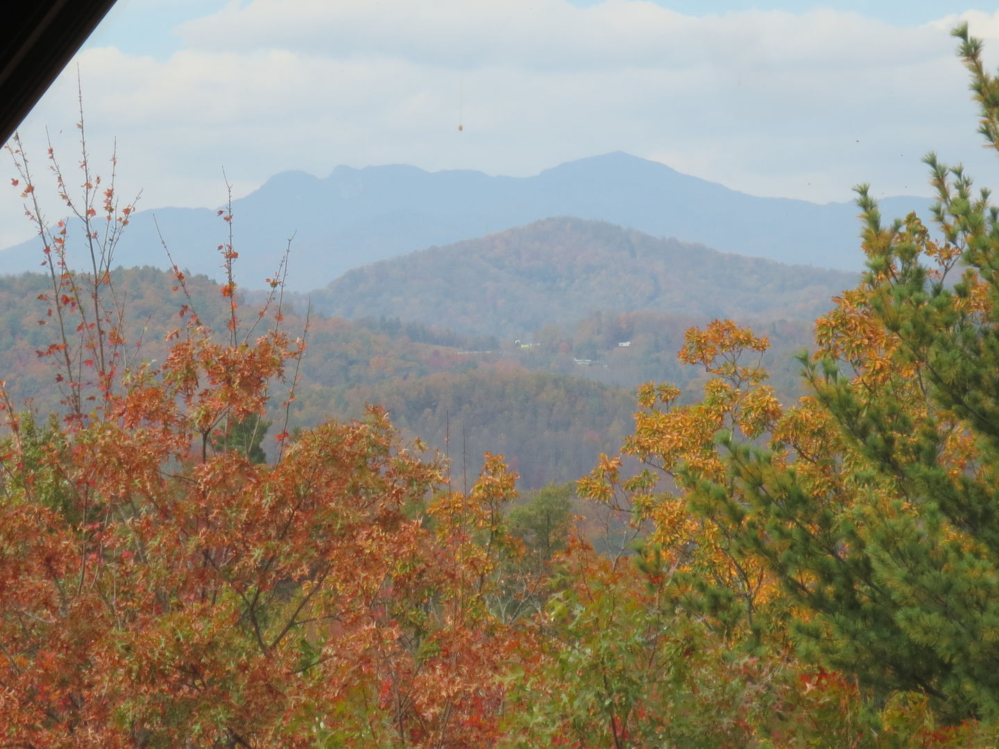 Perfect place to be to enjoy fall foliage!