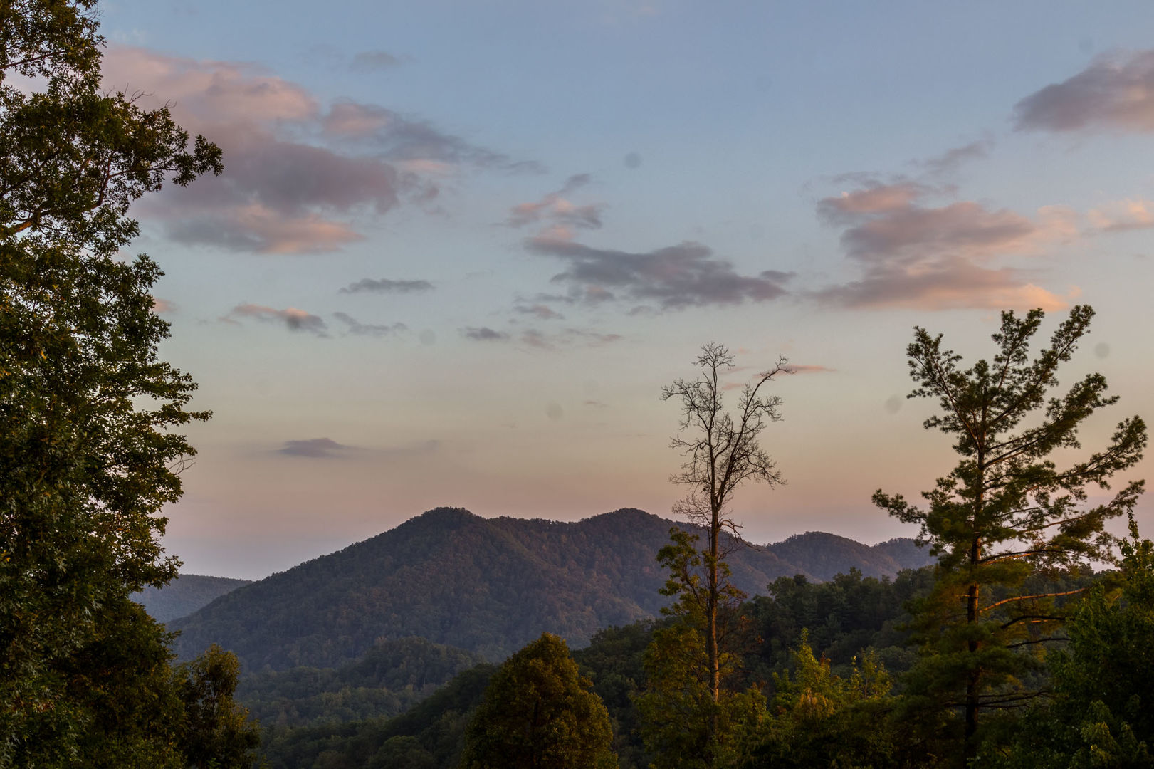 Perfect mountain setting!