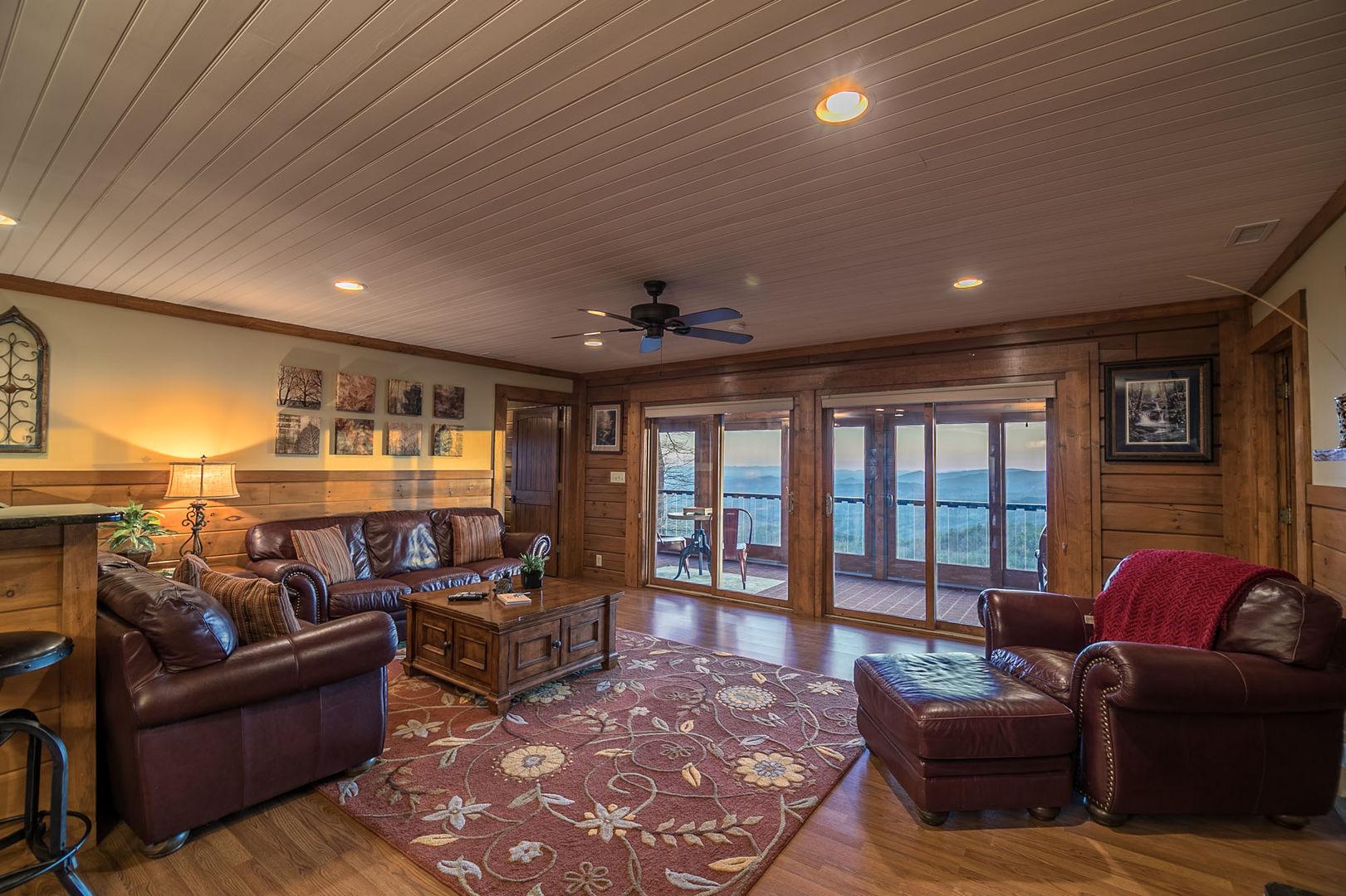 Main living room area