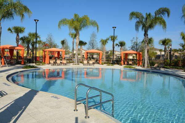 On-site facilities:- Poolside cabanas and zero entry pool