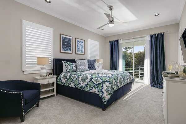 This master suite is perfect for the adults