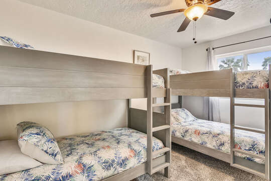 Reel Me In - bunk room on main level