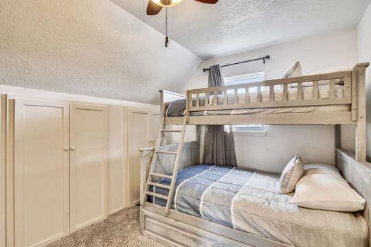 Reel Me In - upper-level bunk bedroom