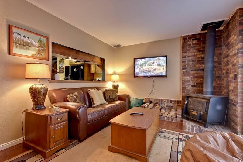 Living Room/Wood Burning Stove