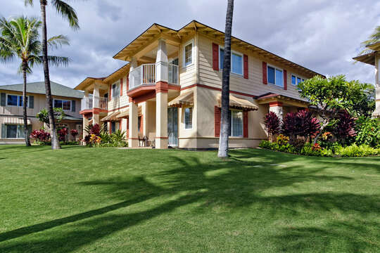 A View our Oahu Vacation Rental from Outside