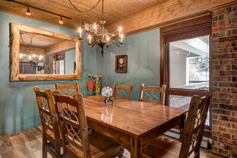 Formal Dining or Game Table