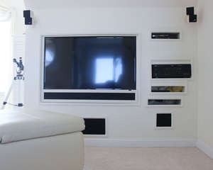 Entertainment Center in upstairs living room