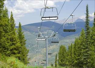 Ski Lifts in the Summer