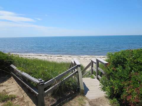 Stairway to the beach - Chatham Cape Cod New England Vacation Rentals