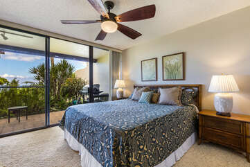 Master Bedroom with Cal-King Bed