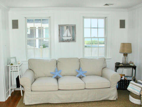 Beautiful views from the living room! - 5 Sea Breeze Avenue Harwich Port Cape Cod - New England Vacation Rentals