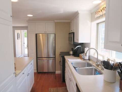 Kitchen with all new appliances  - 5 Sea Breeze Avenue Harwich Port Cape Cod - New England Vacation Rentals