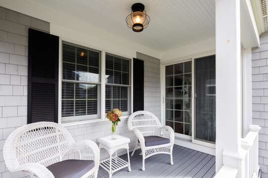 Relax seaside and enjoy your favorite afternoon beverage! 5 Sea Breeze Avenue Harwich Port Cape Cod - New England Vacation Rentals
