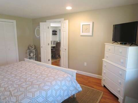 Enter Master Bedroom from Dining area on 1st floor - 5 Sea Breeze Avenue Harwich Port Cape Cod - New England Vacation Rentals