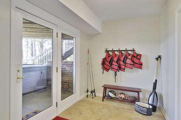 Lower Level Storage Room