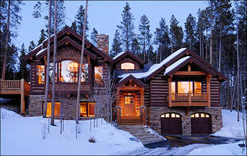 Rustic Timber Lodge (212527-5522)