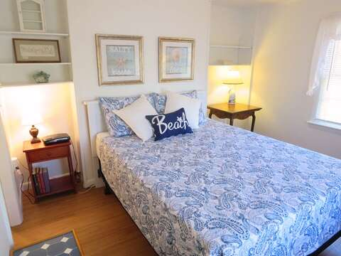 Master Bedroom with Queen Bed-  41 Whip O Will Harwich Cape Cod - New England Vacation Rentals