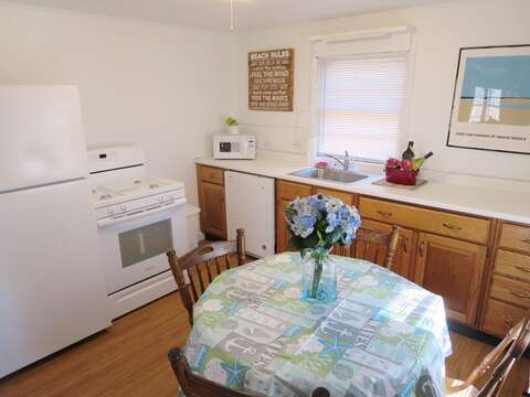 Fully equipped kitchen with gas stove and dishwasher!  41 Whip O Will Harwich Cape Cod - New England Vacation Rentals