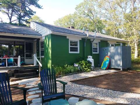 Back of 41 Whip O Will  Harwich Cape Cod - New England Vacation Rentals