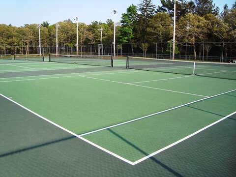 Public tennis courts available right in Harwich Center! Cape Cod - New England Vacation Rentals