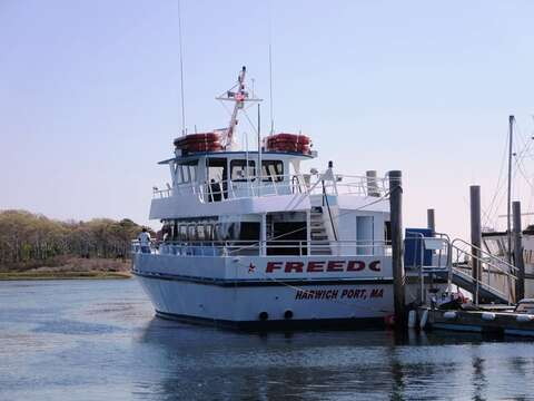 Grab the freedom Ferry for a day trip to Nantucket over by Brax Landing in !Harwich- Cape Cod - New England Vacation Rentals