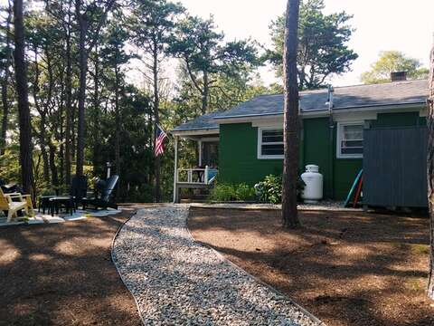 Completely nestled in the pines - enjoy this Cape Cod Hidaway-  41 Whip O Will  Harwich Cape Cod - New England Vacation Rentals
