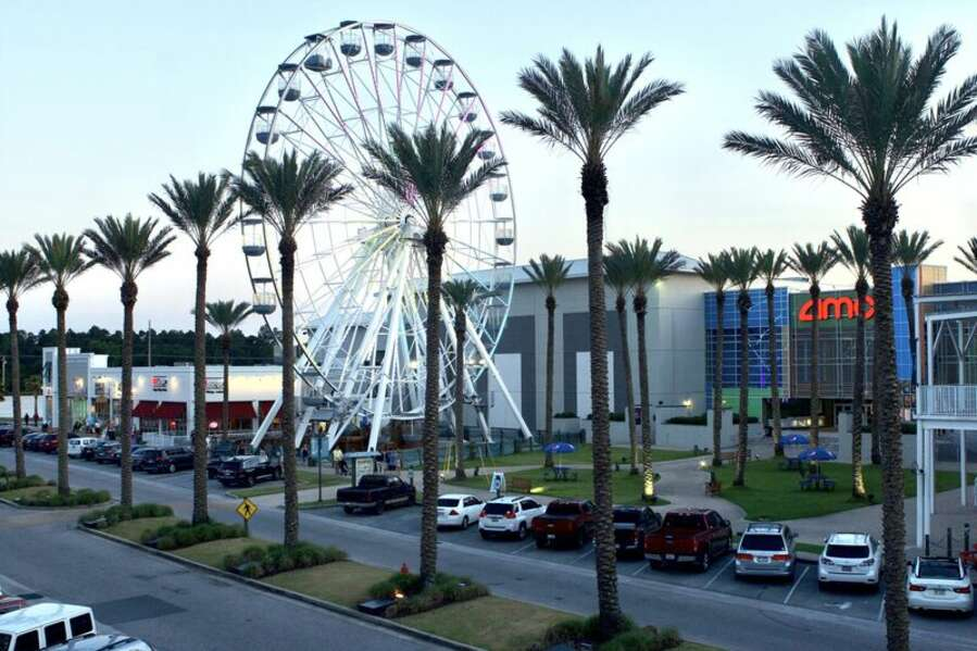 Ferris Wheel and AMC Movie Theater at The Wharf, Orange Beach