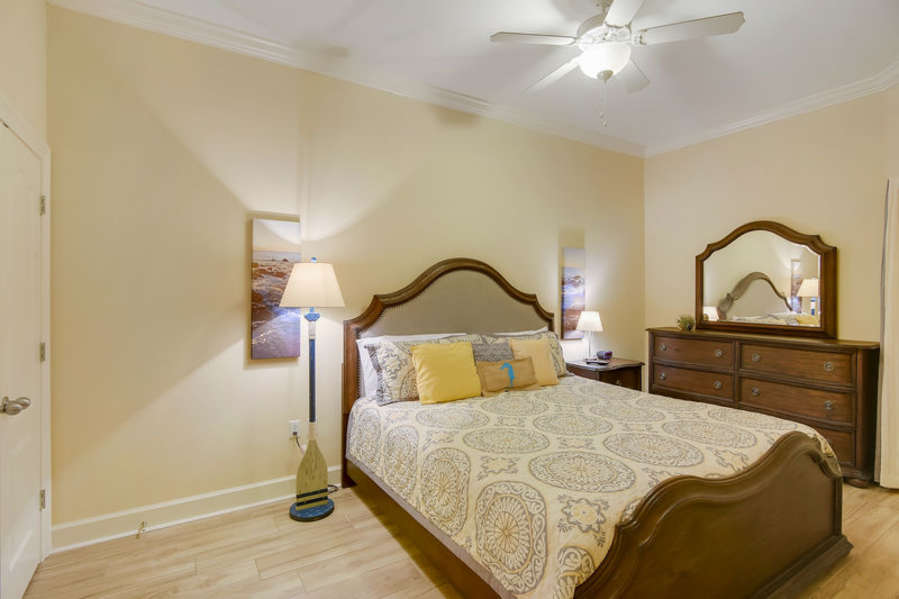 Guest Room has a King Size Bed and Private Bath