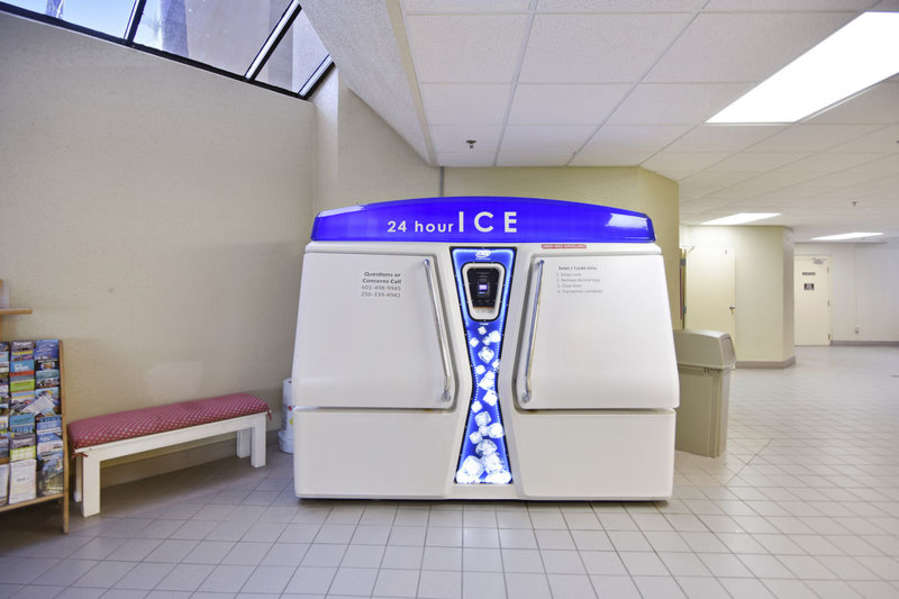 Ice Machine located on the Ground Level