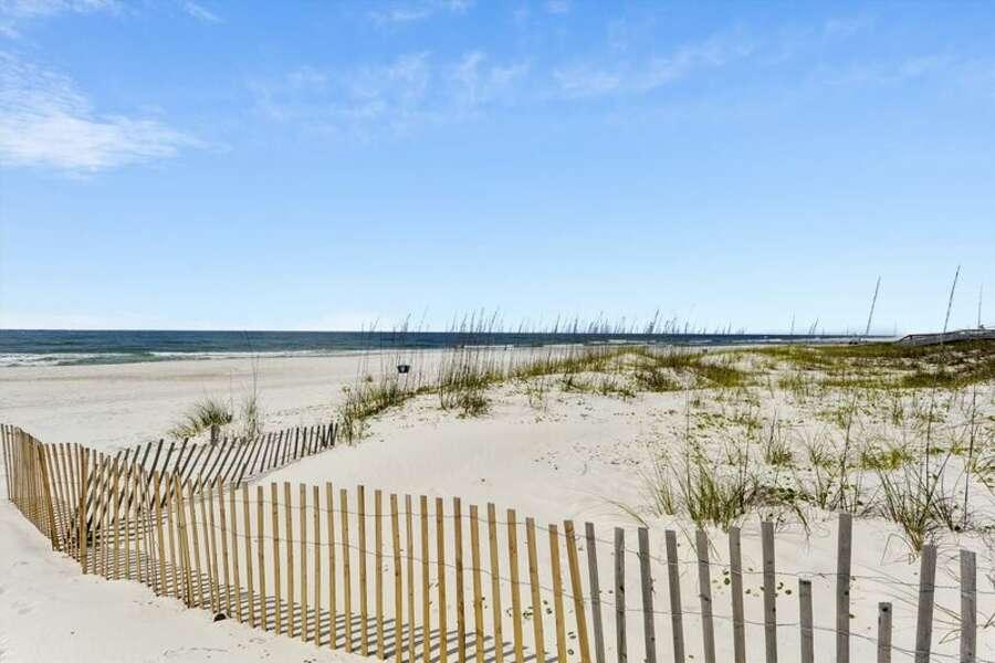 Beach View of the gulf