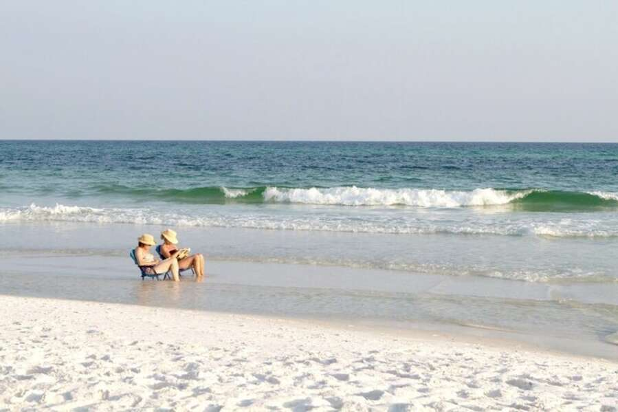 Slow Days Relaxing on the shore  of Orange Beach