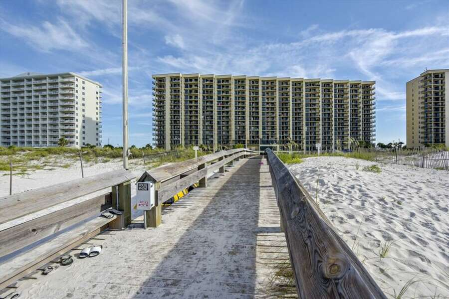 Beach Boardwalk to the Condo